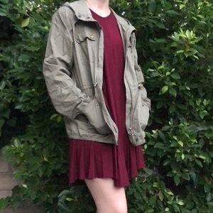 100% cotton Michael Michael Kors military jacket